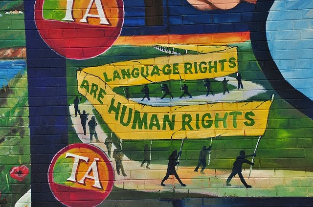 Language rights are human rights