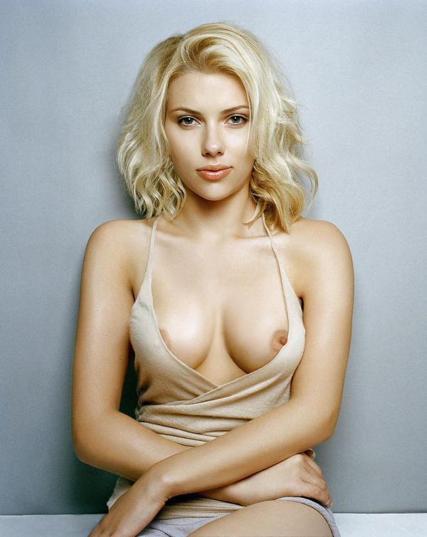 Scarlett Johansson Boobs Nipples