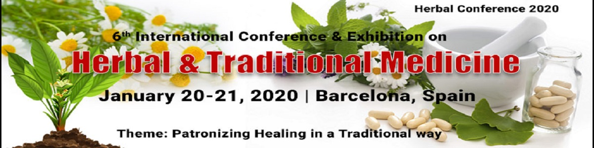 6<sup>th</sup> International Conference & Exhibition on  Herbal & Traditional Medicine