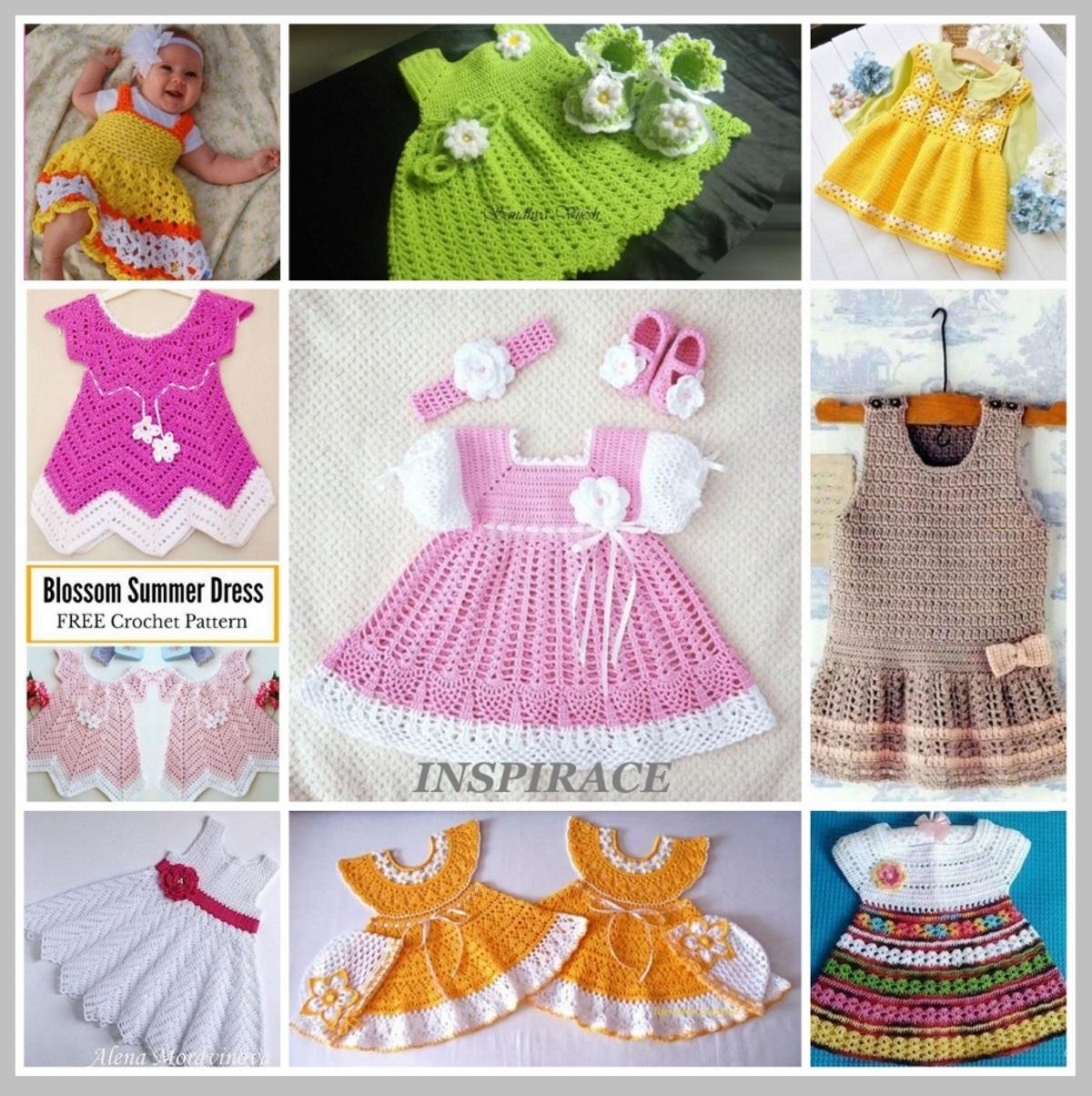 35f1ef6a63cf Tvořivé ručičky   Háčkované šatičky pro malou princezničku