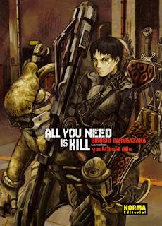 """Reseña de """"All you need is kill"""" - Hiroshi Sakurazaka"""