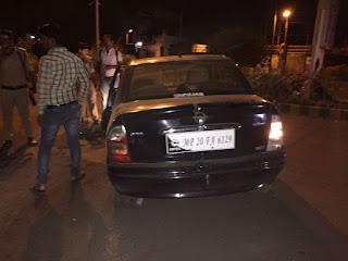 Jabalpur hit and runn case vijay nagar
