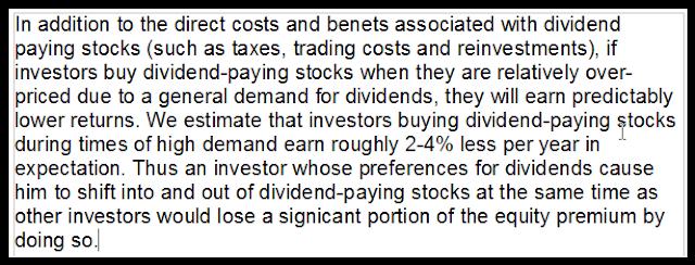 Hartzmark & Solomon 2016 dividend fallacy