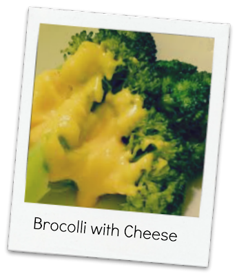 Brocolli with Cheese