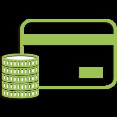 Pago en efectivo y Tarjeta de Crédito y Débito
