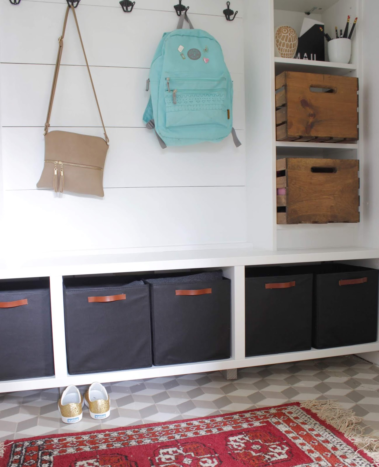 Mudroom Reveal | House Homemade