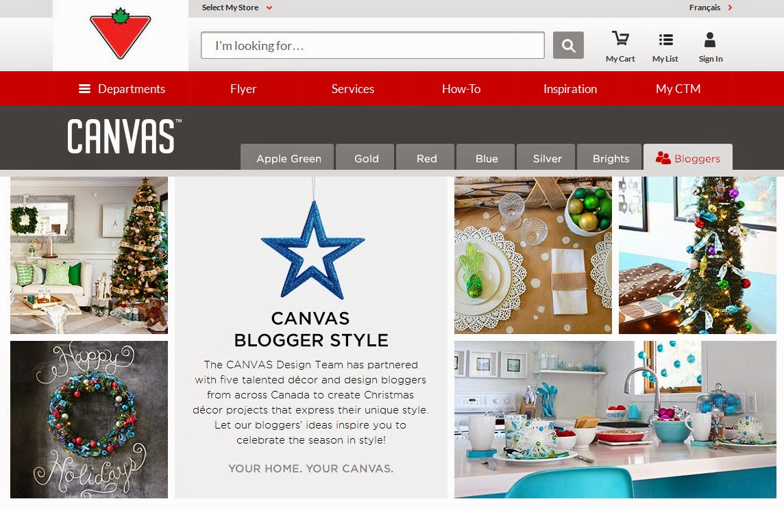 CANVAS holiday bloggers