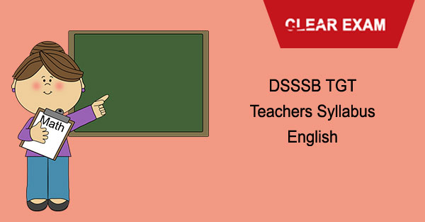 DSSSB TGT Syllabus English