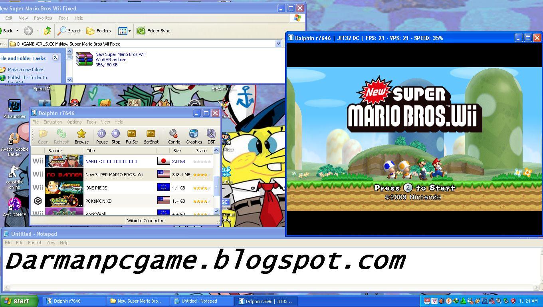 Dolphin emulator new super mario bros wii download