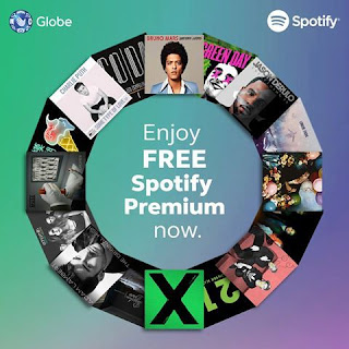 Globe free Premium Spotify