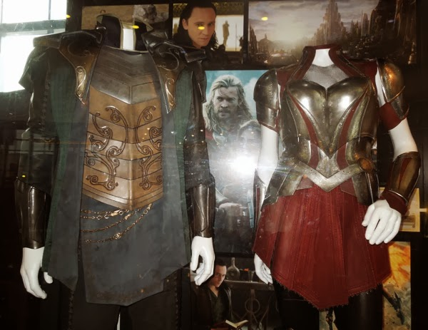 Original Thor Dark World movie costumes