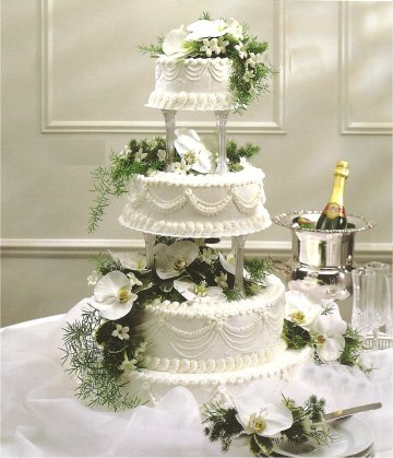 decorate a wedding cake with fresh flowers wedding cakes with fresh flowers 2012 13374