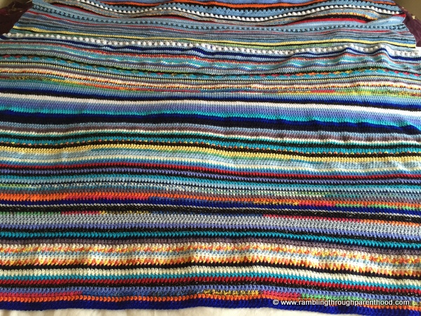 Sky Blanket 2016: vertical or horizontal stripes?