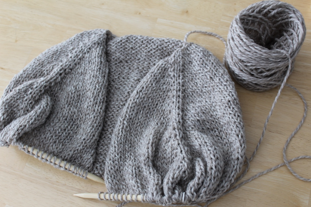 Figknits Knitting The Top Down Raglan Cardigan Part Two
