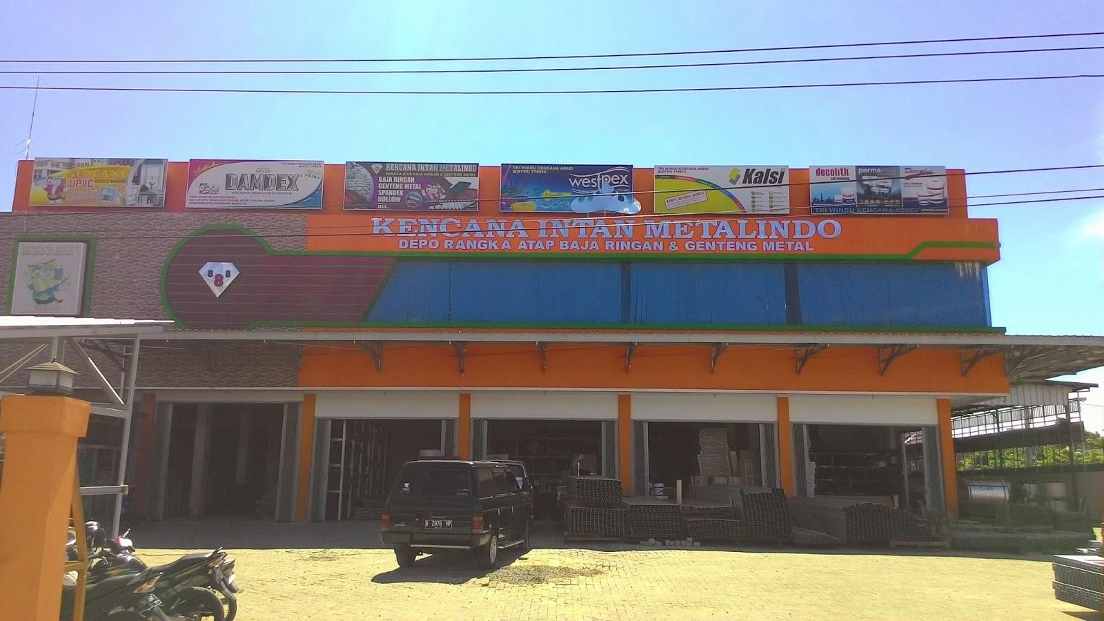 Distributor Baja Ringan Kencana Intan Metalindo Rangka Atap Harga