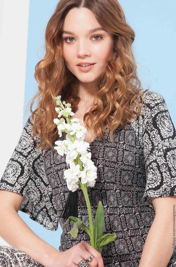Moda primavera verano blusas. Asterisco colección primavera verano 2017.