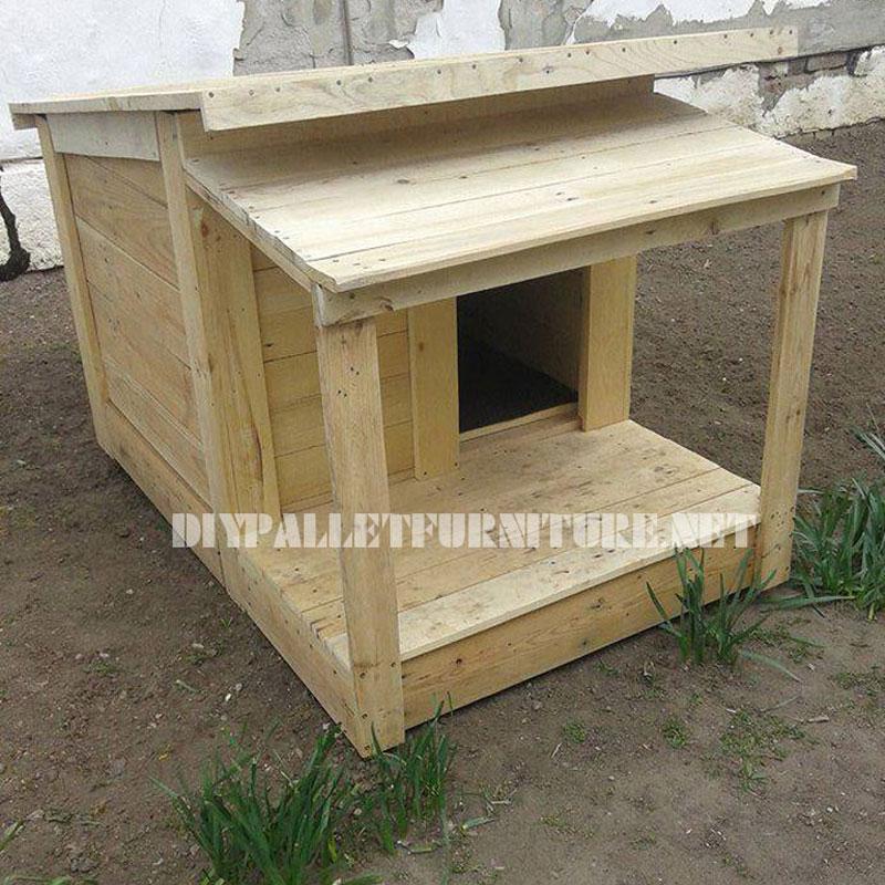 Recopilatorio de casitas de perros - Casitas con palets ...