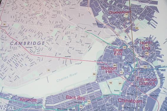 Mapa de Boston. 10 cosas que ver en Boston