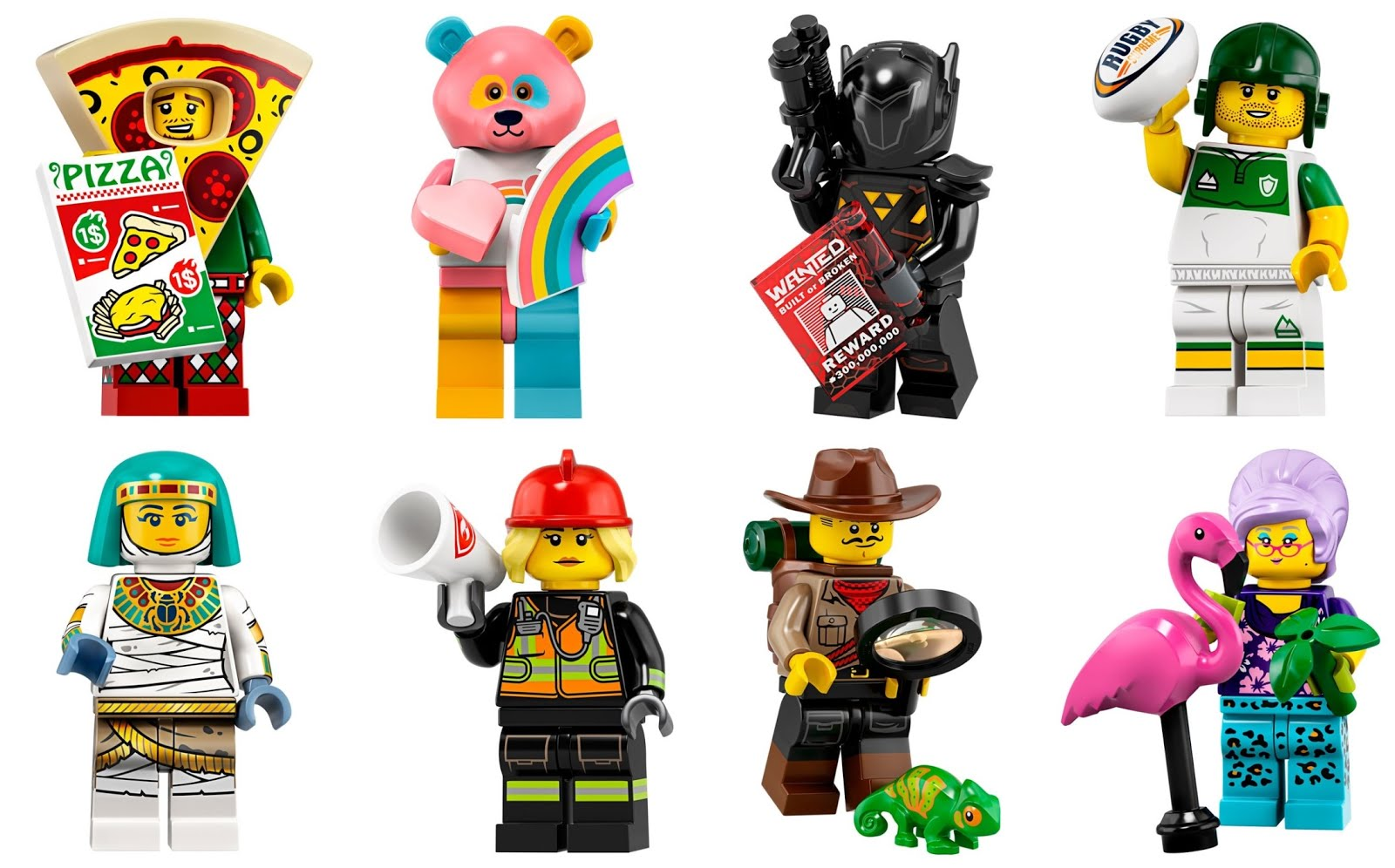 Shower Guy NEW Lego 71025 Minifigures Series 19