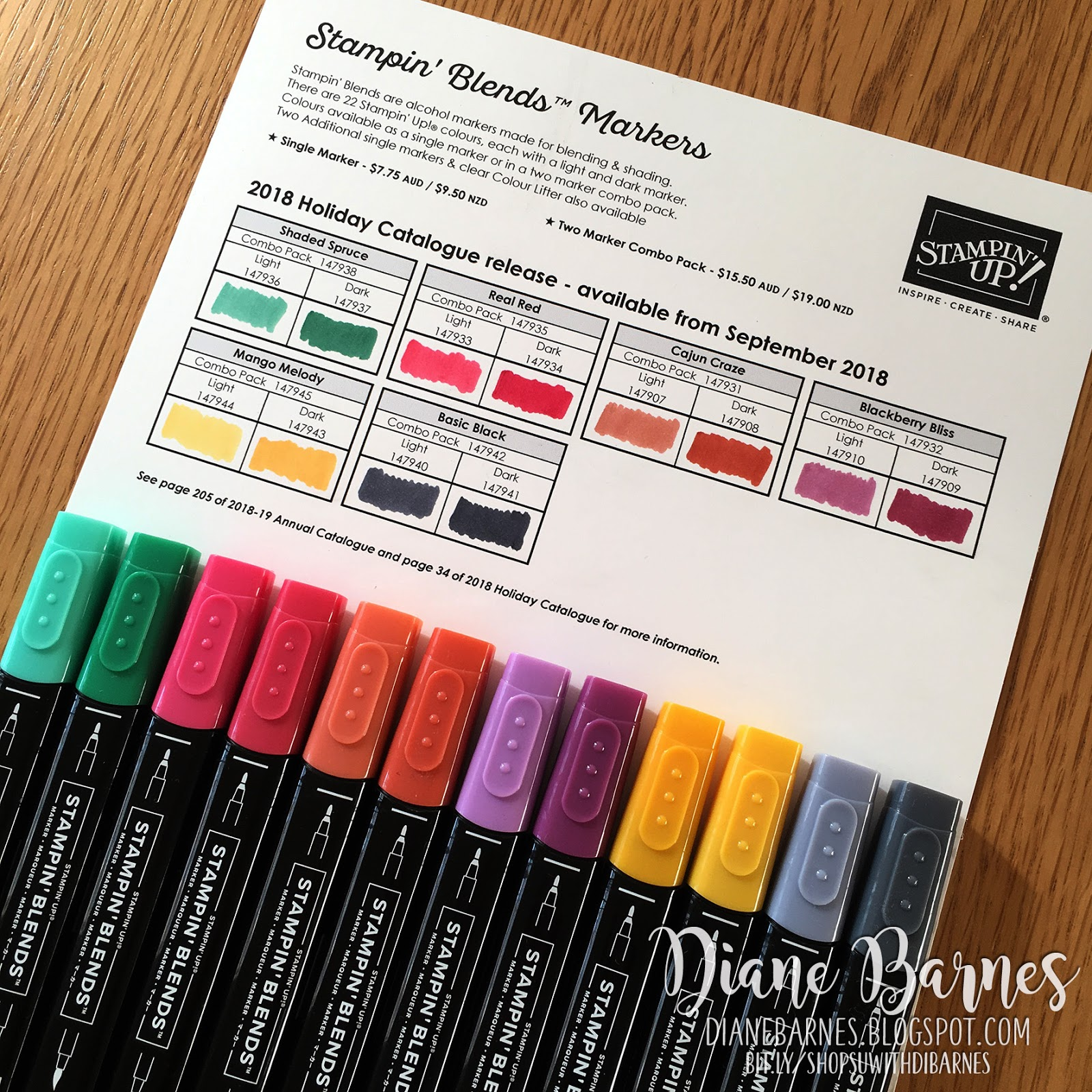 Colour Me Happy More Stampin Blends Colours Coming