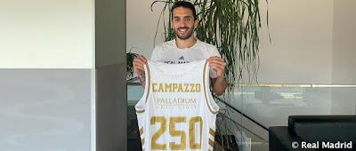 Campazzo: 250 partidos