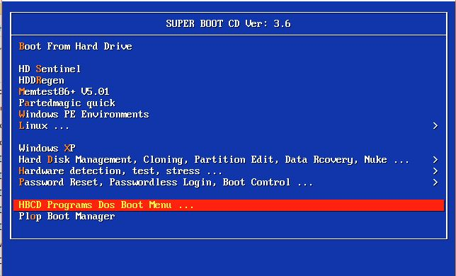 RMPrepUSB, Easy2Boot and USB booting: Super Boot CD