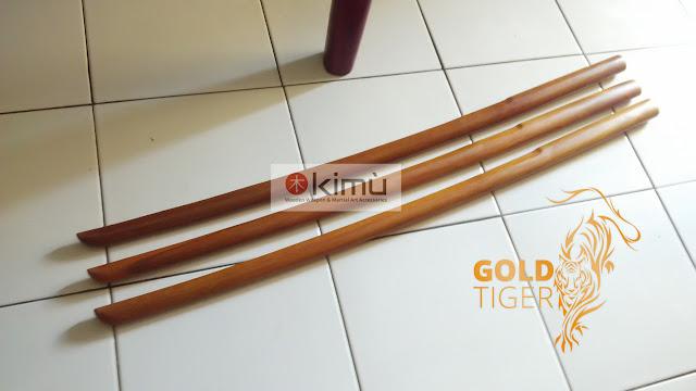 Bokken Kayu Sawo (Gold Tiger)