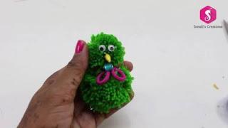 Boneka dari Benang Wol