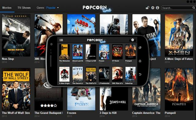 تحميل برنامج Popcorn Time لمشاهدة الافلام العالمية اون لاين