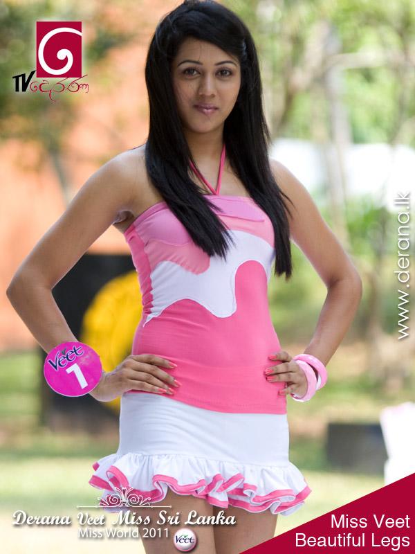 Miss Sri Lanka 2011 Miss Veet Beautiful Legs-5464