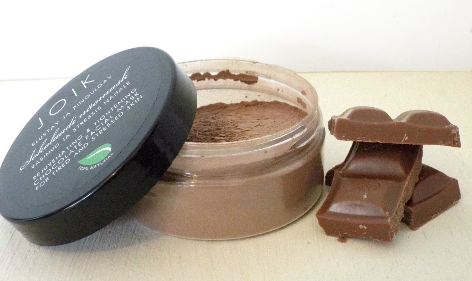 joik chocolate face mask review
