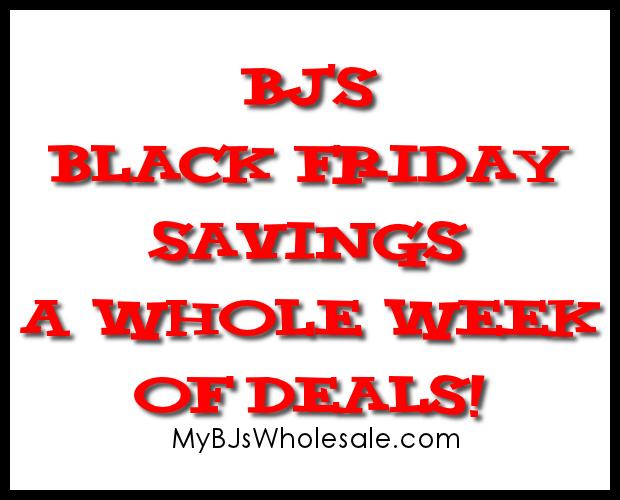 BJs Black Friday Ad Matchups 2013