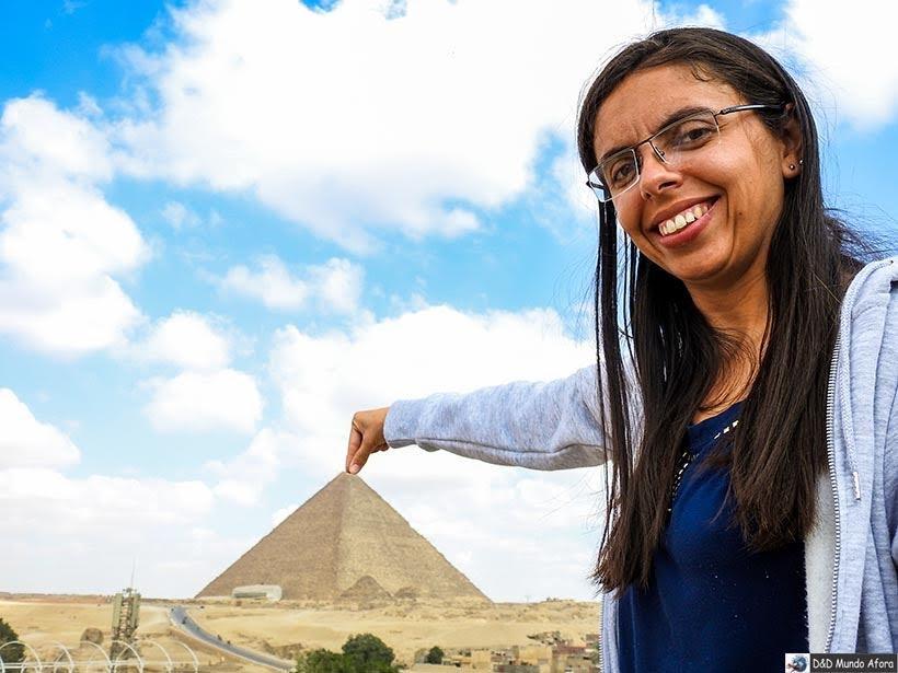 Pirâmide de Queops - Diário de Bordo: 2 dias no Cairo