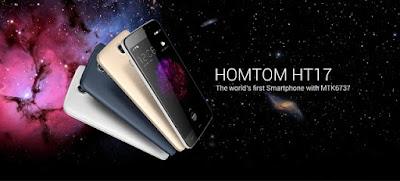 هاتف Homtom HT17 بإمكانيات رائعة جداً وسعر لا يصدق