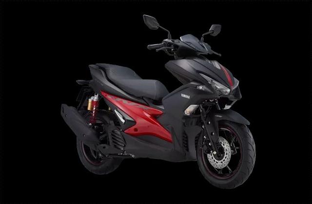 2018 Yamaha Aerox 155 VVA special edition akan dirilis