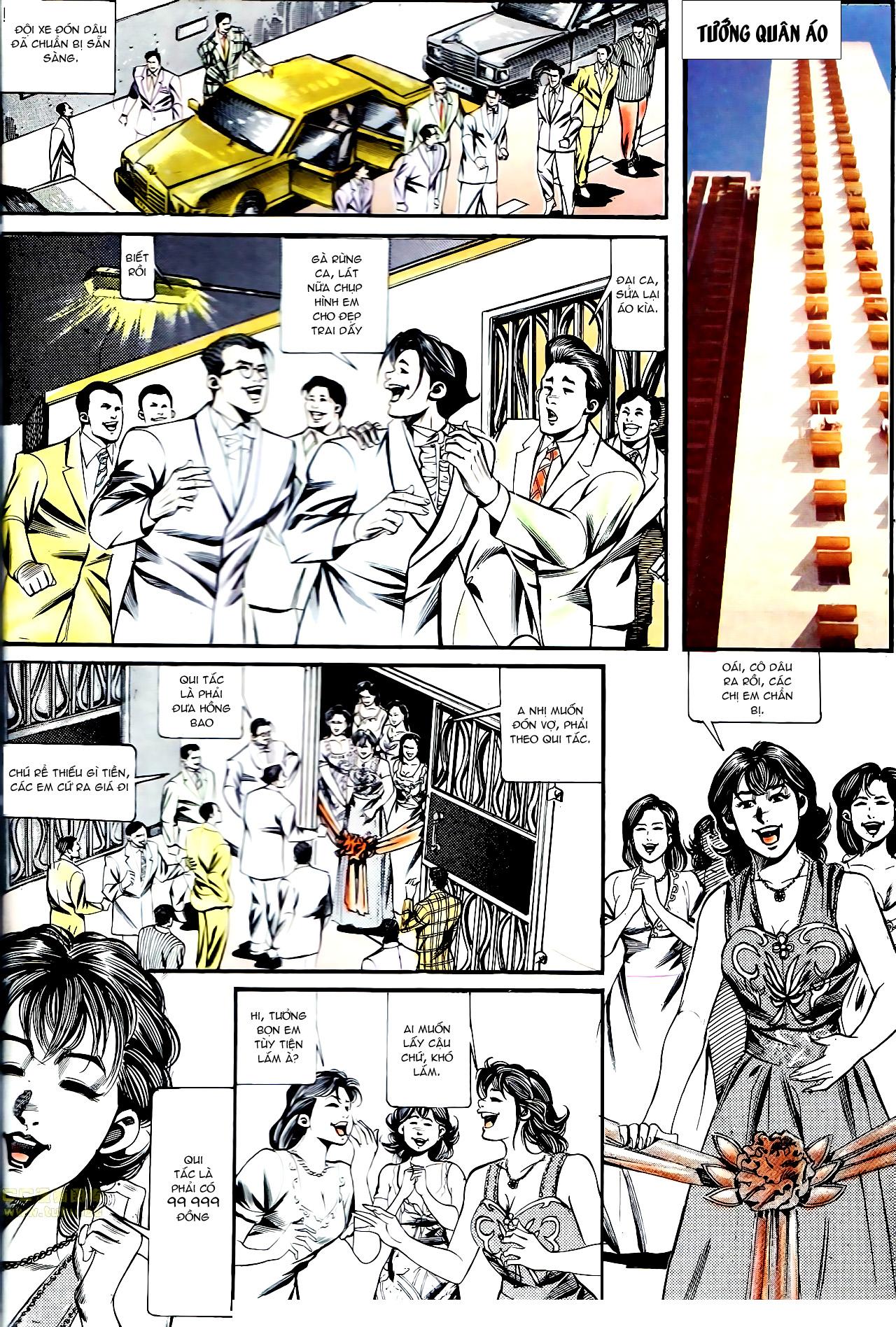 Người Trong Giang Hồ chapter 137: yêu nhất là ai trang 33