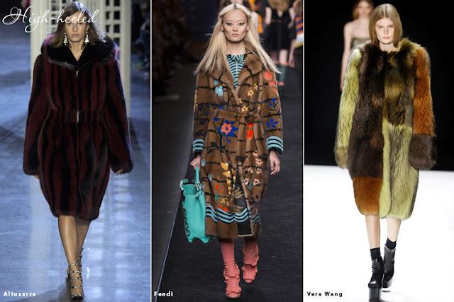 Мех - модный тренд сезона осень-зима 2016-2017