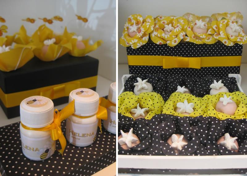 Decoracion De Baby Shower De Amarillo Negro Y Blanco Baby Shower