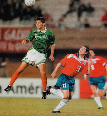 Chile y México en Copa América 1999, 30 de junio