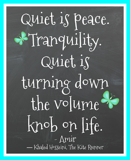 Quote about quiet and rest