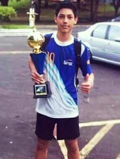 Brasil: Fallece jugador de 17 años tras partido de handball Matheus-sato