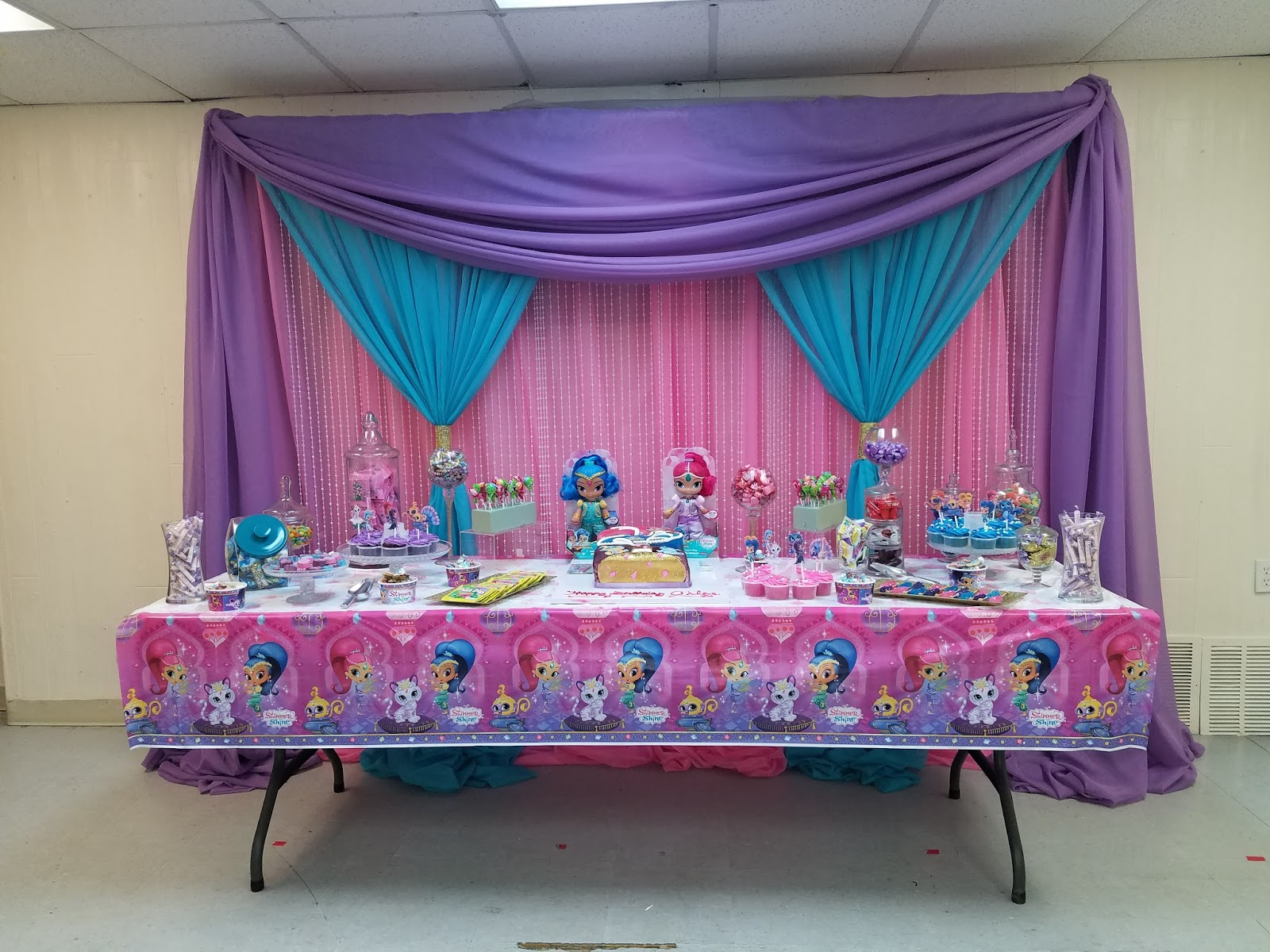 Chloes Shimmer Shine Diva Party