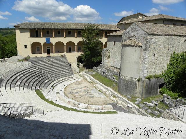 Spoleto  Anfiteatro