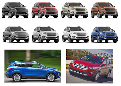 2018 Ford Escape Trim Levels and Features