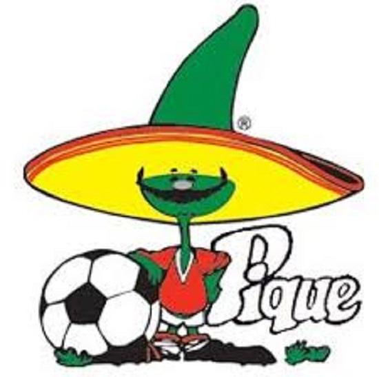 Pique ớt xanh linh vật World Cup 1986