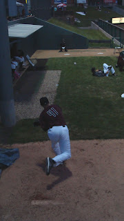 Sean Toler in T-Bones Pen - Kansas City