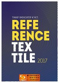 Catalogue Référence Textile 2017