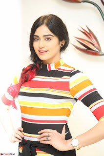 Adha Sharma in a Cute Colorful Jumpsuit Styled By Manasi Aggarwal Promoting movie Commando 2 (89).JPG