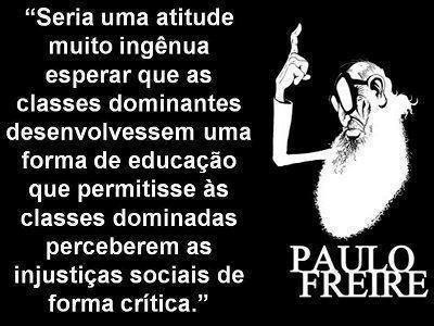 Filosofia Hoje Paulo Freire Esperar Das Classes Dominantes