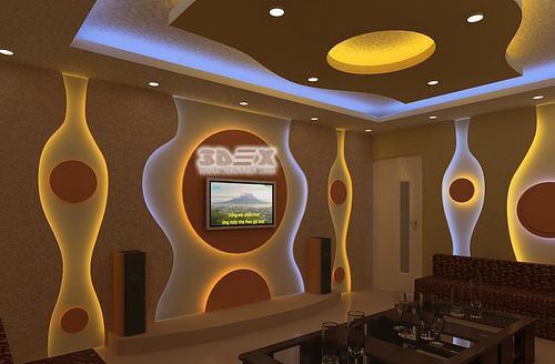 New POP false ceiling designs 2018 POP roof design for living room hall
